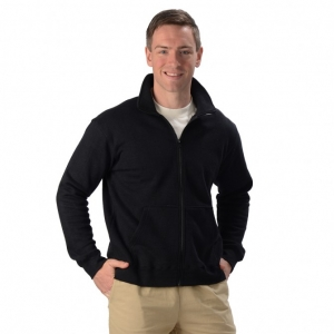 Men's Hemp Zipper Jacket with Pockets from Eco-Essentials