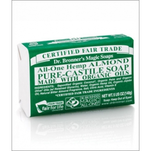 Dr. Bronner's All-in-one Hemp Almond Pure-castile Soap