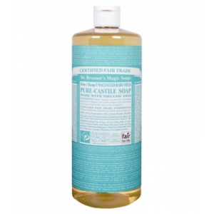 Dr. Bronner's All-in-one Hemp Baby Liquid 473ml Unscented Pure-castile Soap